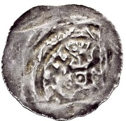 1 Halbbrakteat - Erlung and his descendant -  obverse