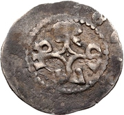 1 Pfennig - Otto I. von Lobdeburg – reverse