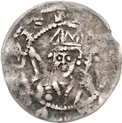 1 Denar - Berthold II. von Sternberg – obverse