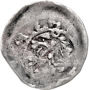 1 Pfennig - Gerhard von Schwarzburg – reverse