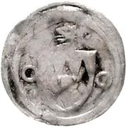 1 Pfennig - Johann I. von Egloffstein – obverse