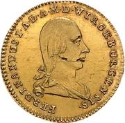 1 Goldgulden - Ferdinand von Österreich (Neujahrsgoldgulden) – obverse