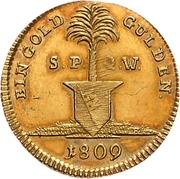 1 Goldgulden - Ferdinand von Österreich (Neujahrsgoldgulden) – reverse