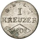 1 Kreuzer - Ferdinand von Österreich – reverse