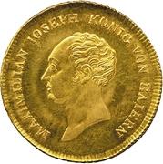 1 Goldgulden - Maximilian I Joseph of Bavaria – obverse