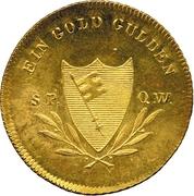 1 Goldgulden - Maximilian I Joseph of Bavaria – reverse