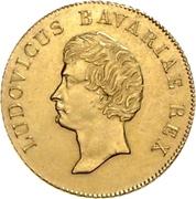 1 Goldgulden - Ludwig I. – obverse