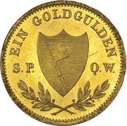 1 Goldgulden - Maximilian II (Neujahrsgoldgulden) – reverse