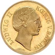 1 Goldgulden - Ludwig II – obverse