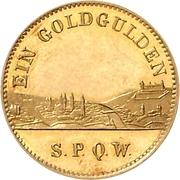 1 Goldgulden - Ludwig II – reverse