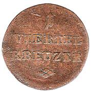 ¼ Kreuzer - Ferdinand – reverse