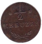 ½ Kreuzer - Ferdinand – reverse