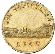 1 Goldgulden - Ludwig I – reverse