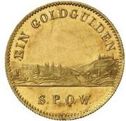 1 Goldgulden - Maximilian II. (Neujahrsgoldgulden) – reverse