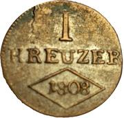 1 Kreuzer - Ferdinand – reverse
