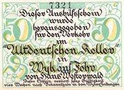 50 Pfennig (Altdeutscher Keller) – obverse