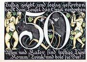 50 Pfennig (Altdeutscher Keller) – reverse