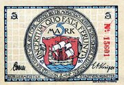 5 Mark – obverse