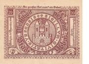 10 Heller (Ybbs) – reverse