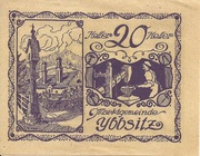20 Heller (Ybbsitz) – obverse