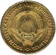 50 Dinara (SFR legend) -  obverse