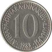 10 Dinara -  reverse