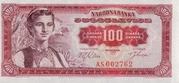 100 Dinara – obverse