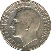 20 Dinara - Aleksandar I – obverse