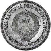 5 Dinara (FNR legend) – obverse