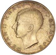 20 Dinara - Peter II – obverse