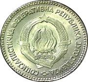 20 Dinara (SFR legend) – obverse
