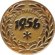 Medal - Diabetes Union of Slovenia (Ljubljana) – obverse
