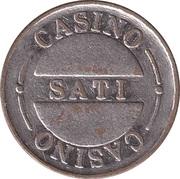 Game Token - Casino Sati (Poreč) – obverse