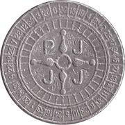 Game Token - PJJJ (26 mm, Copper-nickel) – reverse