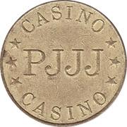 Game Token - Casino PJJJ (28.5 mm, Aluminium-bronze) – obverse