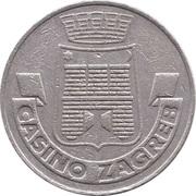 Game Token - Casino Zagreb (Zagreb, Croatia) – obverse