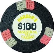100 Dollars - Harold's Maestral Yu Casino (Miločer, Montenegro) – obverse