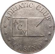 Token - Adriatic Club (Split) – reverse