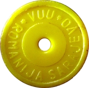 Deposit Token - Kaucija (yellow) – obverse