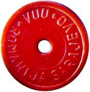 Deposit Token - Kaucija (red) – obverse