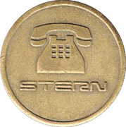 Telephone Token - Stern (Tivat, Montenegro) – obverse