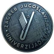 Medal - 1987 Summer Universiade, Zagreb (Silver Donor) – obverse