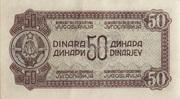50 Dinara – reverse