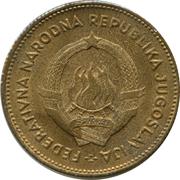 50 Dinara (FNR legend) – obverse