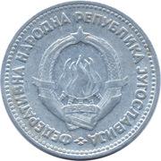 5 Dinara (FNR legend) -  obverse