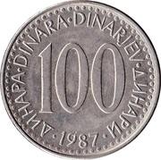 100 Dinara -  reverse