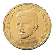 1000 Novih Dinara (Nikola Tesla) -  reverse