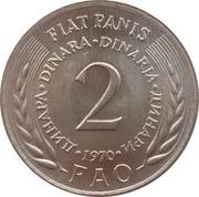 2 Dinara (FAO) – reverse