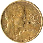 20 Dinara (FNR legend) – reverse