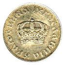 2 Dinara - Petar II (small crown) – obverse